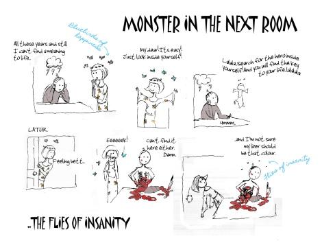 FLIES OF INSANITY
