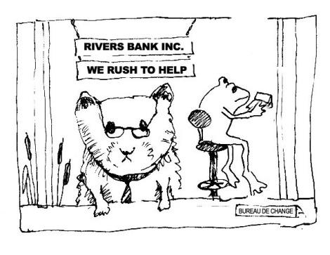 BANK VOLE